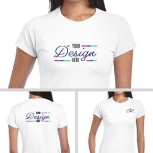 Personalized Softstyle Ladies Tees